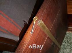 Enfilade baptistin spade suiveur maxime old acajou bronze portor art déco 30 40