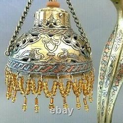 LAMPE en Bronze Art Déco Serpent Cobra 1re moitié XXe