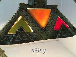 Lampe bronze art deco signé Adolphe Petit Monsigny