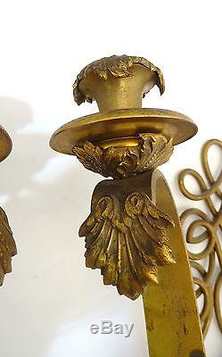 Paire d'Appliques Art déco Lampe design Wall lamps