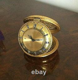 Pendulette Reveil Jaeger Lecoultre 8 Days Alarm Clock