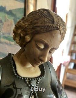 Statue G. Gori Diane aux Levriers