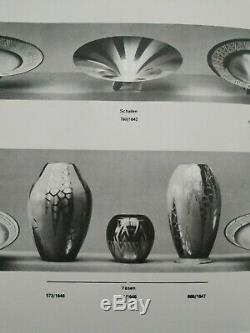 Vase Boule en Dinanderie Art Nouveau par WMF Ikora Made in Germany